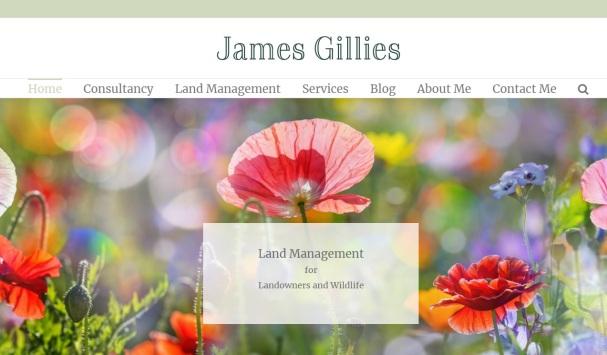 James Gillies home page